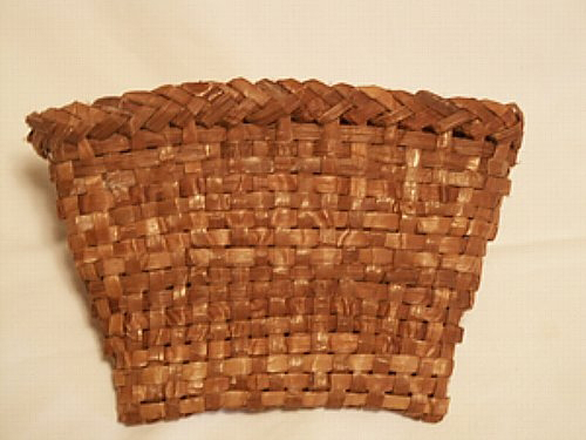 How To Weave A Cedar Basket : My work s woven fire