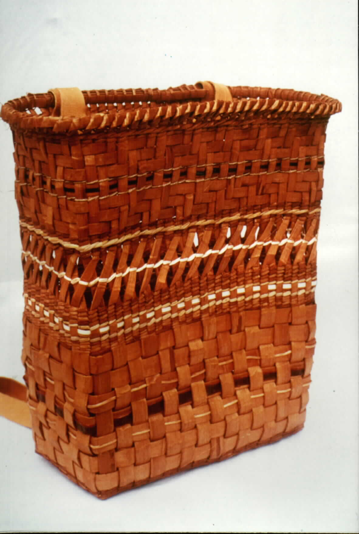 How To Weave A Cedar Basket : Artist s statement woven fire
